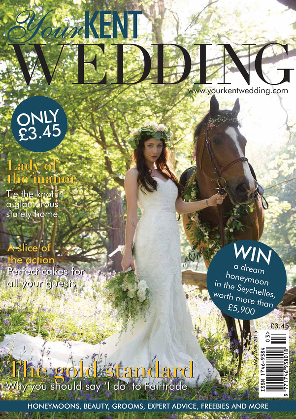 Wild Rose Photography - Your Kent Wedding Magazine Front Cover 2015