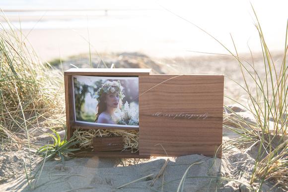 Wild Rose Photography - Rustic Wedding USB Flash Drive