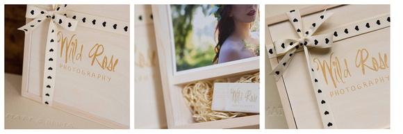 Wild Rose Photography Album and USB- Kent Wedding Photogaphy